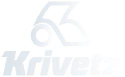 Kuljetusliike Krivetz Logo valkoinen